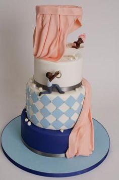 Evlilik teklifi nişan pastası - engagement asking proposal cake
