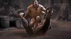 "MK 10 Goro ""Shokan Amputation"" Fatality Mortal Kombat Games, Up Game, Cold War, Origins, Death, Statue, History, The Originals, Illustration Art"