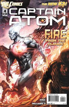 "Call Of Duty ____Written By J. T. Krul , Art By Freddie E. Williams , Cover Art Stanley "" Artgerm "" Lau , The Story _Before he received his godlike powers, Captain Atom was a military man - an Air For"