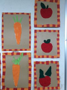 Syksyn satoa Fall Crafts, Crafts For Kids, Apples, Autumn, Day Care, Crafting, Kids, Autumn Crafts, Crafts For Children