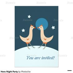 #Hens #Night #Party 5x7 Paper #Invitation #Card