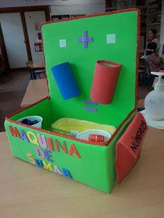 Preschool Math Games, Numbers Preschool, Toddler Learning Activities, Craft Activities For Kids, Kindergarten Math, Preschool Activities, Math Crafts, Math Projects, Preschool Crafts