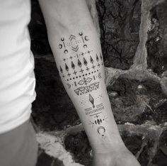 Cool forearm tattoo by Balazs Bercsenyi