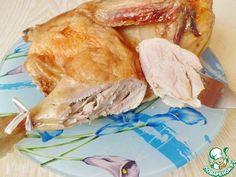Холодная копченая курица в духовке - кулинарный рецепт