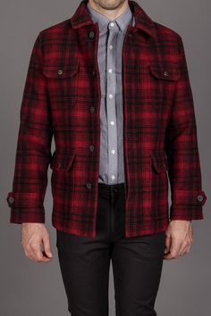 Farah The Horatio Jacket Red Check