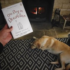 One Day in December by Josie Silver. A romance with lots more. Days In December, Christmas Books, One Day, Snuggles, The Book, Books To Read, Romance, Rug, Fire