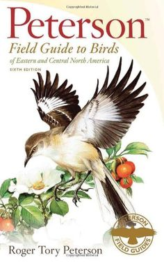 My new Peterson Field Guide to Birds.  My older 4th edition copy was water-damaged, and I replaced it with this 6th (and latest) edition.   There are a few changes between the editions, but it still feels like the bird field guide that I'm most familiar with.