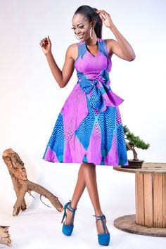 Melia cross back dress – African Fashion Dresses - African Styles for Ladies African Fashion Ankara, Ghanaian Fashion, African Inspired Fashion, African Print Fashion, Africa Fashion, African Prints, African Dresses For Women, African Attire, African Wear
