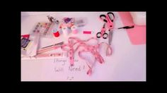 Madoka Cosplay Tutorial- Part 1