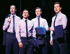 """Written by Marshall Brickman and Rick Elice, """"Jersey Boys"""" is based on the true story of Franki Valli and the Four Seasons. Description from idealmagazine.co.uk. I searched for this on bing.com/images Prince Edward Theatre, Bye Bye Baby, Theater Tickets, Yours Lyrics, Jersey Boys, London Hotels, Four Seasons, True Stories, Literature"""