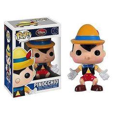 boneco funko pinocchio - pinóquio disney original
