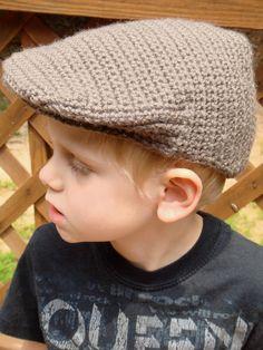 Items similar to Crochet PAGEBOY Cap / Seamus Scally Cap / Pageboy hat / months / months / years / years on Etsy Crochet Cap, Crochet Baby Hats, Cute Crochet, Crochet Beanie Hat, Beanie Hats, Knitted Hats, Beanies, Finger Knitting, Knitting Socks
