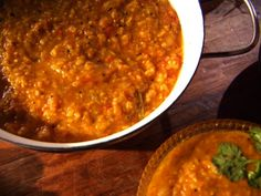 Mum's Everyday Red Lentils Recipe : Aarti Sequeira : Food Network - FoodNetwork.com