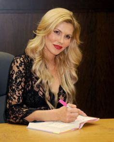 Brandi Glanville's Book Lands On Best Seller List - Photos Signing