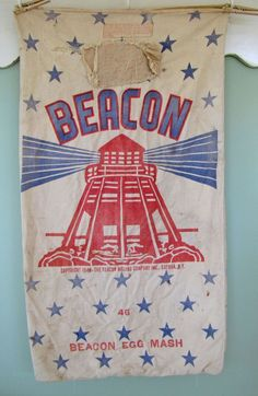 Your place to buy and sell all things handmade Flour Sacks, Feed Sacks, Farmhouse Signs, Lighthouses, Red And Blue, Coloring Pages, Burlap, Patches, Jute