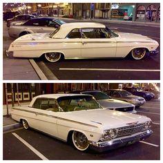 Beautiful custom '62 Impala spotted in Tacoma, WA