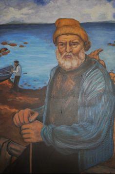 Kopi Fiskermannen My Arts, Painting, Painting Art, Paintings, Painted Canvas, Drawings