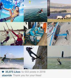Une bonne année 2017 à vous ! Merci pour votre soutien toute l'année !!! Voici une mini rétrospective avec nos 9 meilleures publications sur Instagram en 2016 !