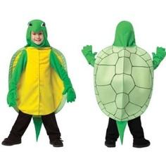Toddler Green Turtle Kids Halloween Animal Costume