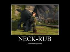 HTTYD-Neck-Rub by IllusionEvenstar.deviantart.com on @deviantART