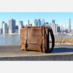 Gold Rush Leather Lonesome Traveler