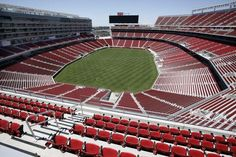 The 49ers' new home, the $1.3 billion Levi's Stadium in Santa Clara, is nearly ready for football!