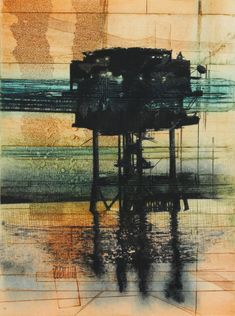 Alexandra Sivov is a Houston based fine artist who works with mixed media and unveils the secret of architecture, its dynamic lines sometimes in movement through abstract paintings. Oil Industry, Abstract, Architecture, Gallery, Artist, Painting, Inspiration, Summary, Arquitetura