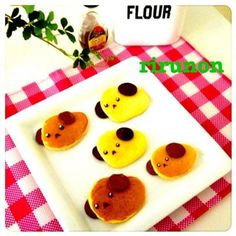 Pancake mameshiba -- So cute!! Going to make these for my roommates.