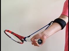 PermaWrist Tennis Training Aid - YouTube
