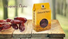 Majestic Date Gift Pack One 200 Gram Decorative Package of 100% Fresh Delicious Amri Dates - Gift Giving! Super Healthy and Naturally Sweet Great For Stuffing With Jams Fillings and Nuts -Vegan Kosher ** Click image for more details.