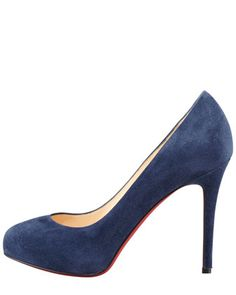 740389b54 Christian Louboutin New Declic Suede Red Sole Pump Red Sole, Stiletto  Heels, Pump,