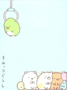 Sumikkogurashi animal in corner piled mini Note Pad 4