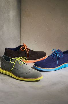 Cole Haan 'LunarGrand' Wingtip (Men)p--Love these:) | Raddest Looks On The Internet http://www.raddestlooks.net