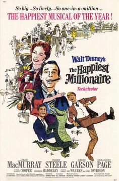 One of my favorite movies. It is hilarious, the musical numbers are catchy, and the dancing scene is like live-action Cinderella. Plus, there are real alligators in it. So basically, it has everything you want in a movie.