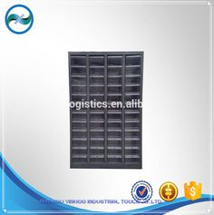 Plastic Drawer Parts Cabinet 48 Drawers Electronic Component Storage Cabinet