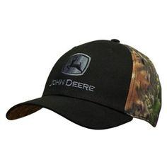 John Deere Men's Camo Stretch Sweatband Cap | WeGotGreen.com