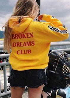 #Fairy Season - #Broken Broken Dreams Club Plaid Hoodie - AdoreWe.com