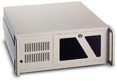 """Gabinete Industrial RK-610 para montagem em rack 19"""", 4U de altura, compatível com placa mãe ATX, MicroATX, Mini-ITX e backplane passivo PICMG"""