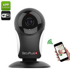 Este produto numa super promocao Câmeras IP SecuP... Confira aqui! http://alphaimports.com.br/products/cameras-ip-secuplug-sp05-960p-wi-fi-smartphone-app-960p-deteccao-de-movimento-notificacao-de-alarme-two-way-audio?utm_campaign=social_autopilot&utm_source=pin&utm_medium=pin