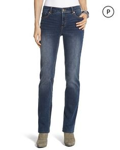 Chico's Petite So Lifting By Chico's Slim Leg Jean #chicos  Chico Sweeps<3