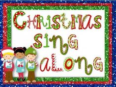 Image result for christmas sing along clipart