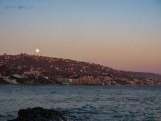 moon over Laguna Beach - OLYMPUS DIGITAL CAMERA