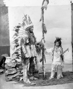 "The Indian Act- put in place in 1876. Gave the government legal permission to ""regulate the management if reserve lands, money, etc"" (class notes, 2018, ch. 5) Photo: Topley, W. (1896). Hayter Reed and stepson Jack Lowery [Photograph]. Retrieved from http://wherearethechildren.ca/en/exhibition/"