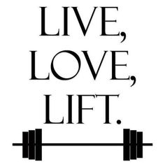Love that weight lifting!