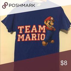 Team Mario Nintendo tee Good condition tee Tops Tees - Short Sleeve