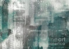"""Rainy City Blues"" ...enhanced photographic print..."