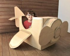 Make a couple of these for the kids to play in and watch the fireworks and airshow in :)