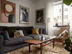 The Nordroom - Scandinavian apartment Mod Living Room, Home And Living, Home Interior, Living Room Interior, Interior Design, Hygge, Scandinavian Apartment, Sweet Home, House Design