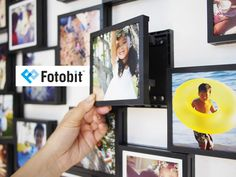 Fotobit: Modular Photo Framing System by Alan Yeung — Kickstarter.  Fotobit is a simple, expandable modular frame system to display your photos and Instagram prints.