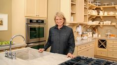 Watch Martha Stewart's Ask Martha: Innovative Kitchen Storage Video. Get more step-by-step instructions and how to's from Martha Stewart.